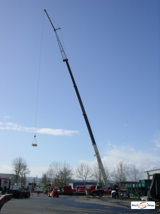 Link-Belt HTC-8650 II Crane for Rent in Tualatin Oregon on CraneNetworkcom
