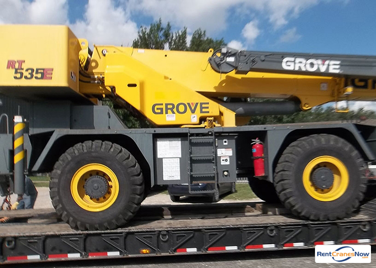 35-TON GROVE RT535E Crane for Rent in Monroe Washington on CraneNetwork.com