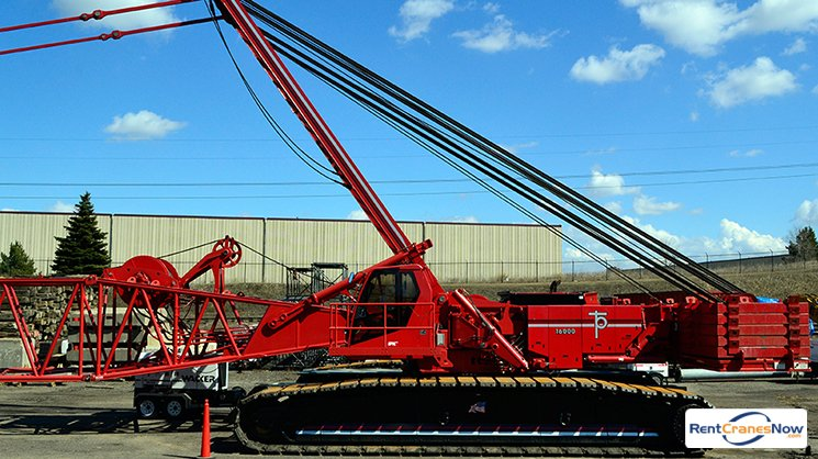 440-TON MANITOWOC 16000 Crane for Rent in Eagan Minnesota on CraneNetwork.com