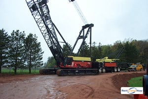 300-TON MANITOWOC M2250 Crane for Rent in Elkview West Virginia on CraneNetworkcom
