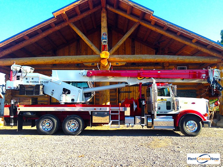 55-TON NATIONAL NBT55 Crane for Rent in Gardnerville Nevada on CraneNetwork.com