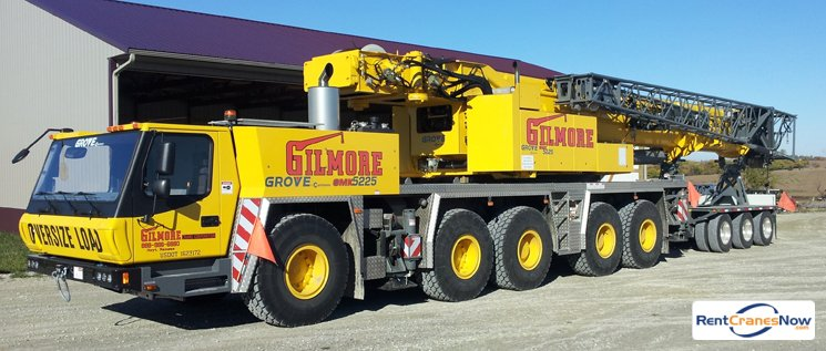 225 Ton All Terrain Crane Crane for Rent in Hoyt Kansas on CraneNetwork.com