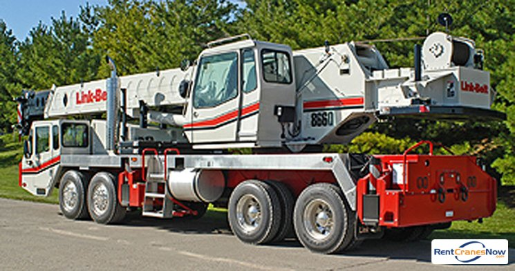 60-Ton Link-Belt HTC-8660 II Crane for Rent in East Hartford Connecticut on CraneNetwork.com