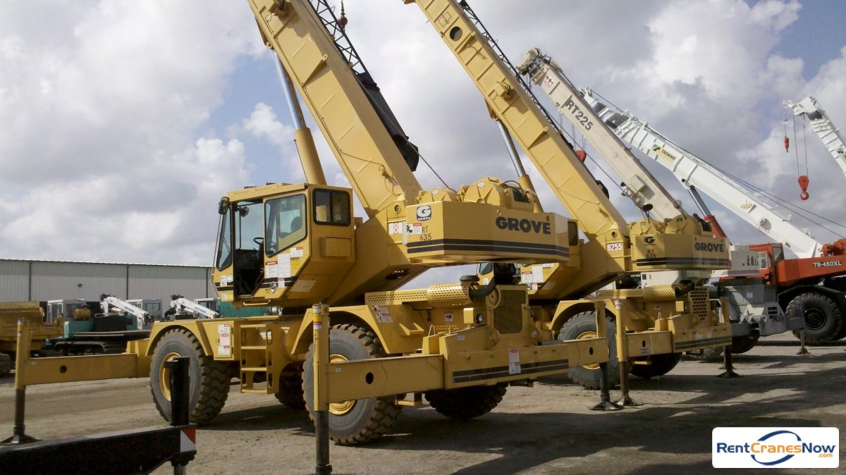 Grove RT635C Crane for Rent in Portsmouth Virginia on CraneNetworkcom