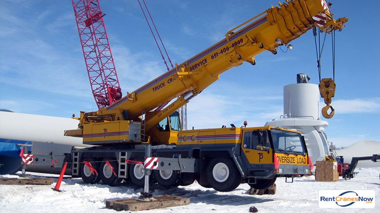 200-TON LIEBHERR LTM 1160-2 Crane for Rent in Eagan Minnesota on CraneNetwork.com