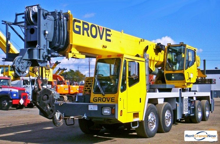 Grove TMS700E Crane for Rent in Newton Massachusetts on CraneNetwork.com