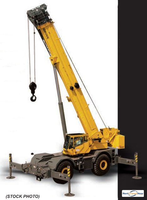 RT-890E 90 Ton RT Crane for Rent in Clearwater Florida on CraneNetworkcom