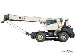 Terex RT230 Crane for Rent in Arlington Heights Illinois on CraneNetwork.com