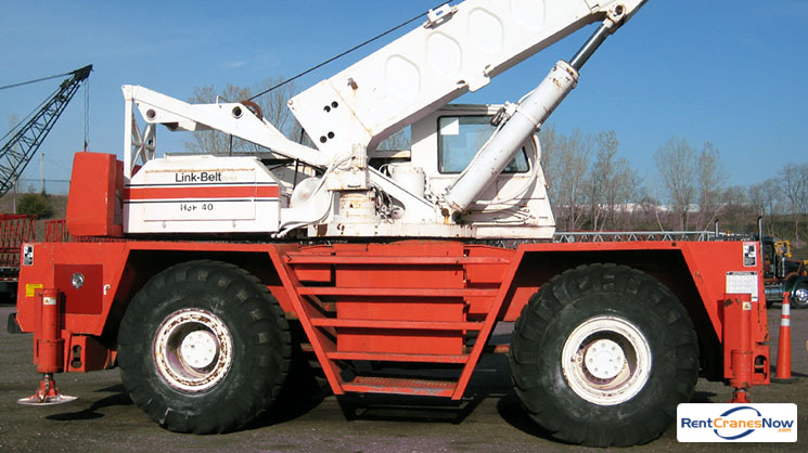 40-Tons Link-Belt HSP-8040 Crane for Rent in Eagan Minnesota on CraneNetwork.com