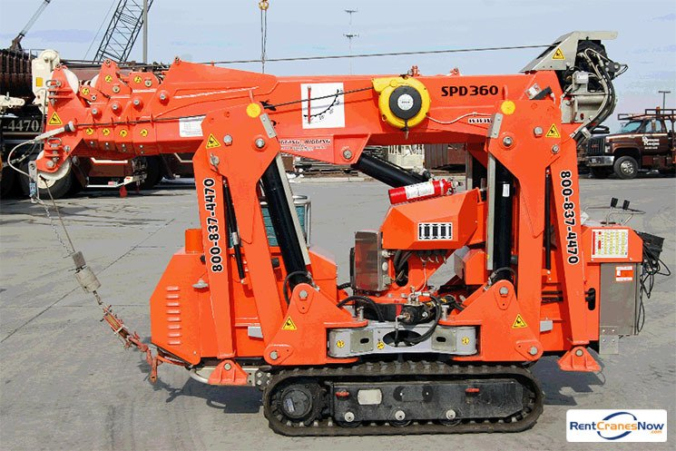 3968 lb JEKKO SPD 360 Crane for Rent in Clarksburg Maryland on CraneNetworkcom