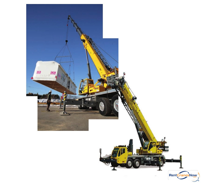 110 Ton Crane for Rent in Waterloo Iowa on CraneNetwork.com