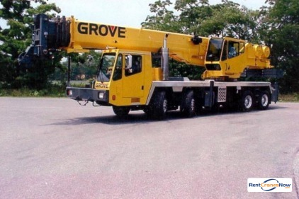 60-TON GROVE TMS760E Crane for Rent in St Louis Missouri on CraneNetworkcom