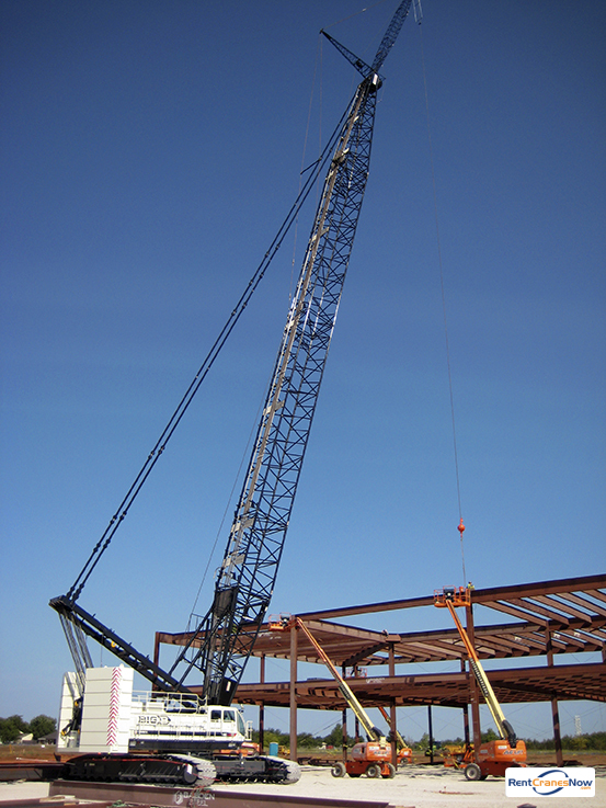Terex HC285 285 Ton Crawler Crane RENTAL Crane for Rent in Burleson Texas on CraneNetworkcom