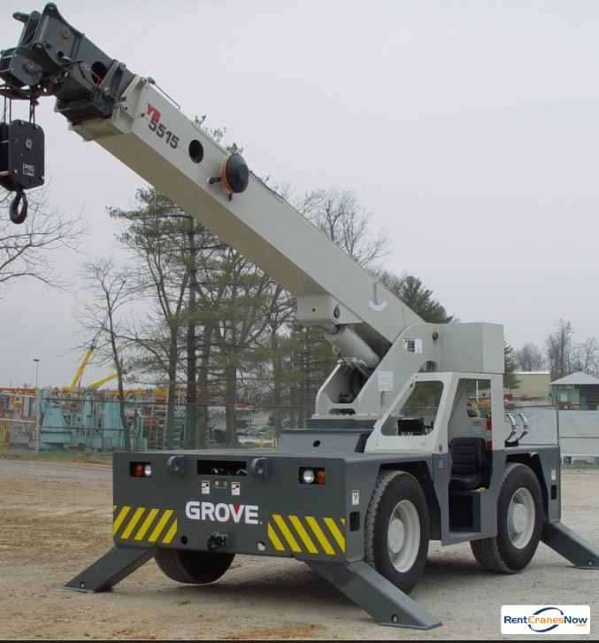GROVE YB5515 Crane for Rent in Superior Wisconsin on CraneNetwork.com