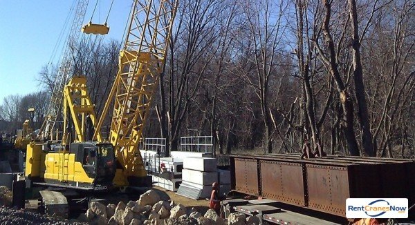 110-TON KOBELCO CK1100G Crane for Rent in Forest City Iowa on CraneNetworkcom