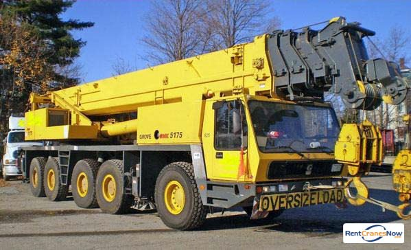Grove GMK5175 Crane for Rent in Tucson Arizona on CraneNetworkcom