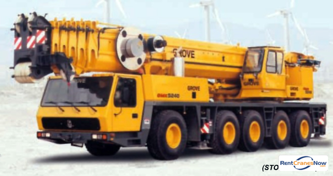 GMK-5240 240 Ton TC Crane for Rent in Clearwater Florida on CraneNetwork.com