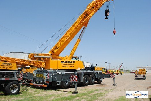 LTM1200-51  Mobile Hydraulic Crane Crane for Rent in Oklahoma City Oklahoma on CraneNetworkcom