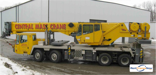 60-Ton Grove TMS700E Crane for Rent in Leicester Massachusetts on CraneNetwork.com