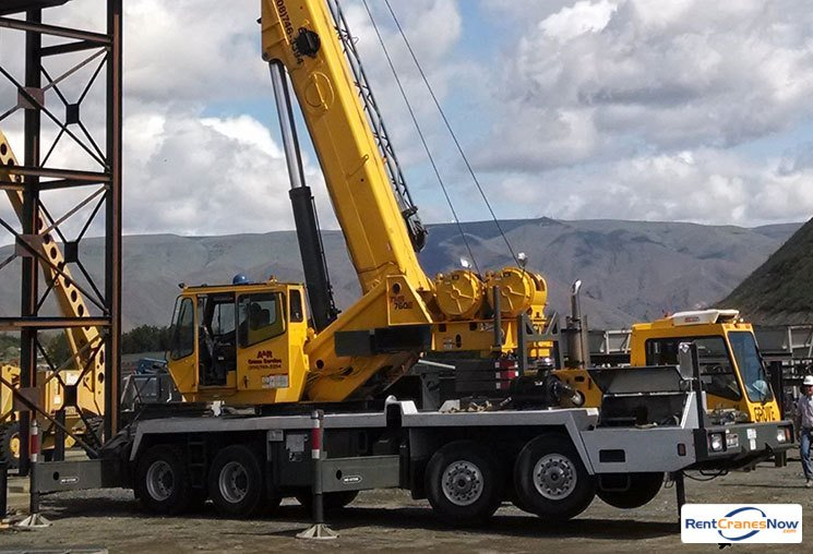 60-TON GROVE TMS760E Crane for Rent in Lewiston Idaho on CraneNetwork.com