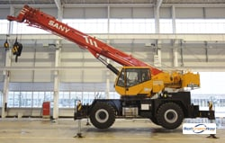 2012 SANY SRC840 ROUGH TERRAIN CRANE Crane for Rent in Bakersfield California on CraneNetwork.com