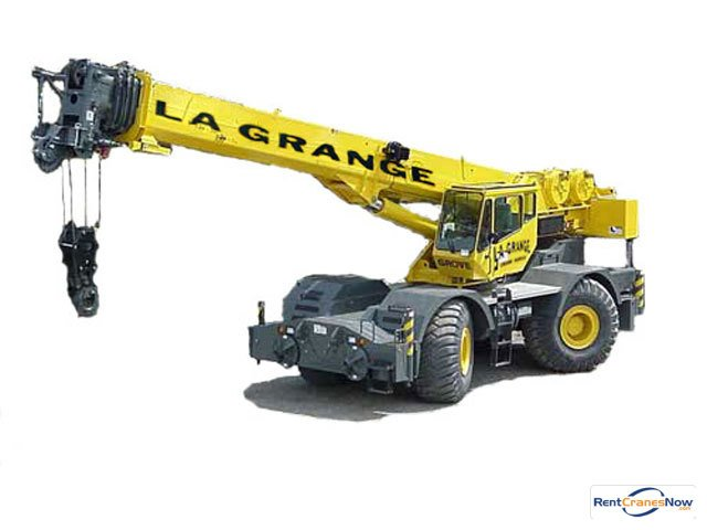 60-TON GROVE RT700E Crane for Rent in Hodgkins Illinois on CraneNetworkcom
