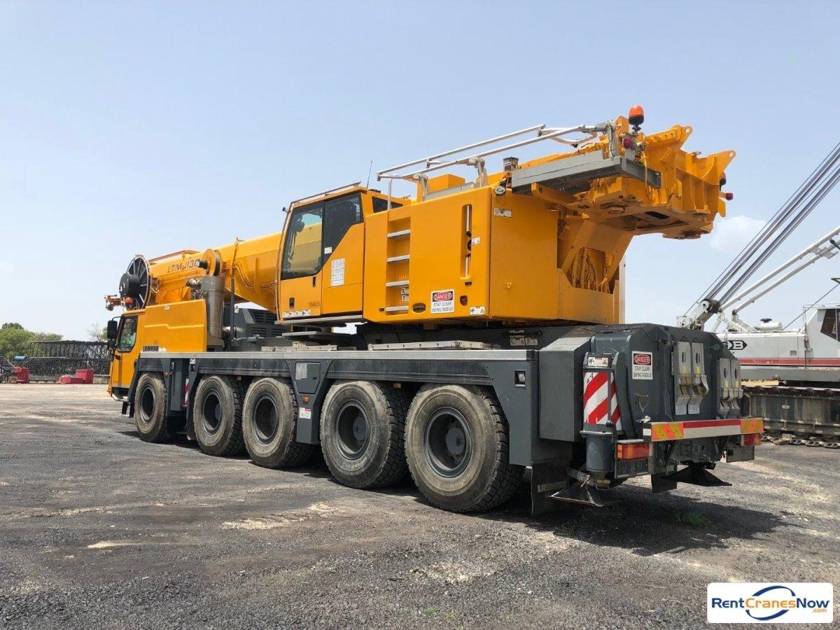 RentCranesNow.com :: Find Thousands of Crane Rental Companies Near YouCrane  details for Liebherr LTM 1130-5.1 in United States