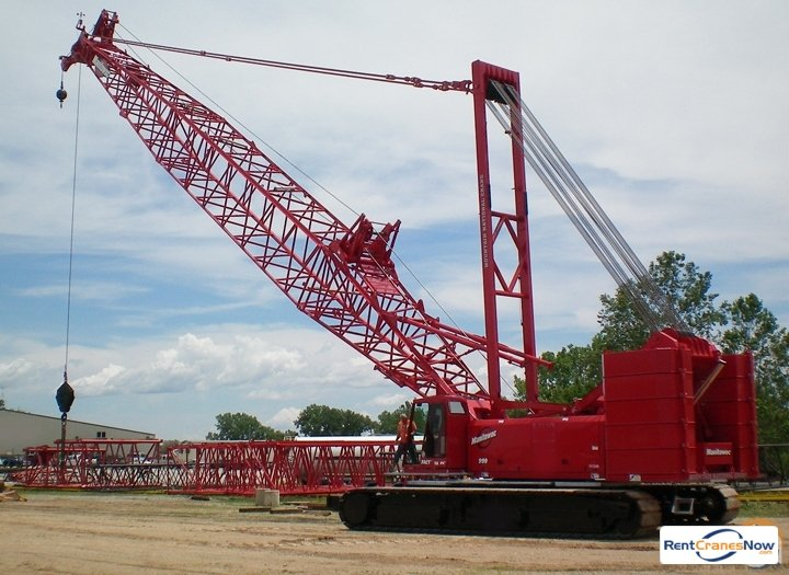 Manitowoc 999 Crane for Rent in Tallahassee Florida on CraneNetworkcom