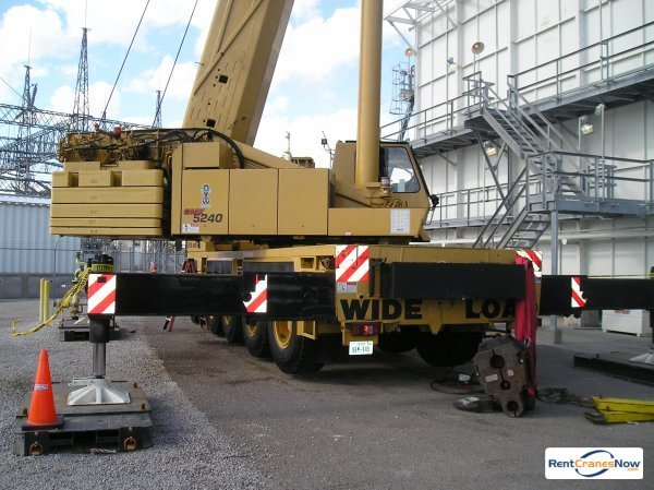 Crane for Rent in Corpus Christi Texas on CraneNetwork.com