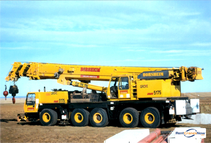 175-TON GROVE GMK5175 Crane for Rent in West Fargo North Dakota on CraneNetwork.com