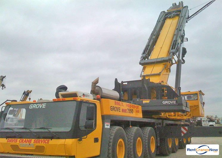 crane for rent in irving texas on