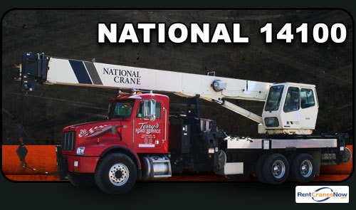 33-Ton National 14100 Crane for Rent in Kalamazoo Michigan on CraneNetwork.com