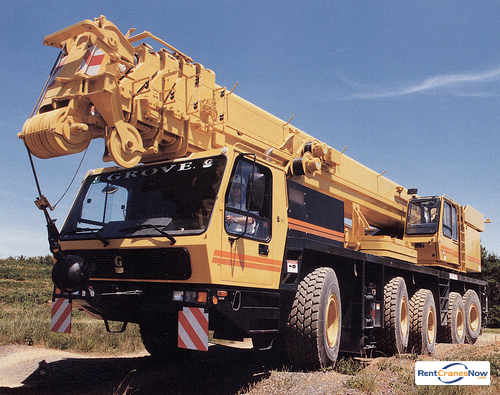 Grove GMK5160 Crane for Rent in Calais Maine on CraneNetworkcom