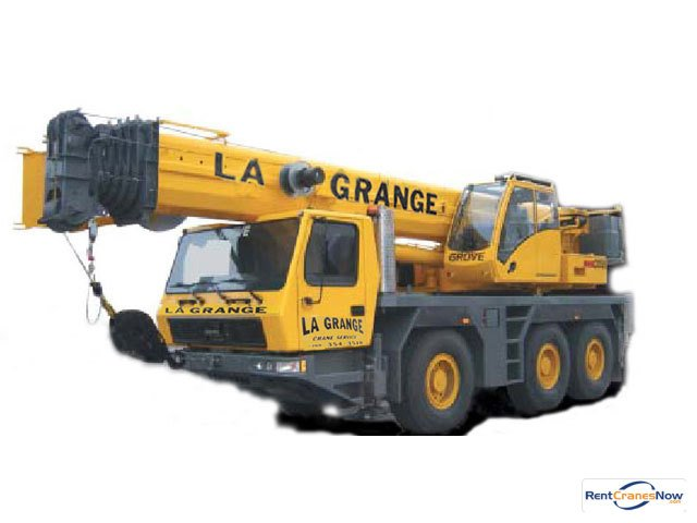 50-TON GROVE GMK3055 Crane for Rent in Hodgkins Illinois on CraneNetworkcom