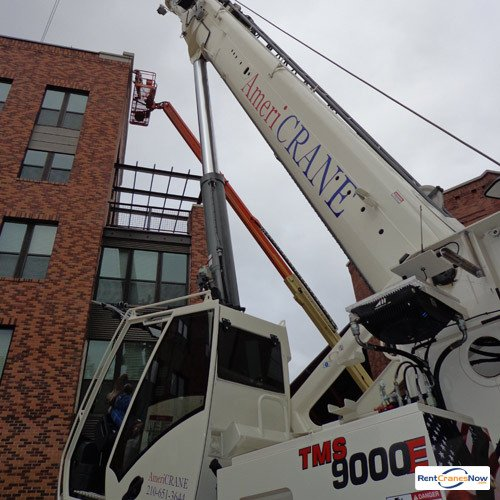 Grove TMS9000E Crane for Rent in San Antonio Texas on CraneNetwork.com