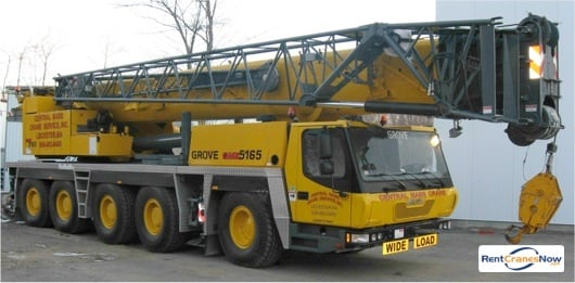 Grove GMK5165 Crane for Rent in Leicester Massachusetts on CraneNetwork.com