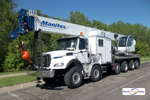 50-Ton Manitex 50155S Crane for Rent in Lafayette Louisiana on CraneNetwork.com