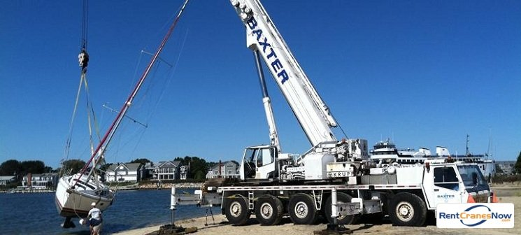 Grove GMK5210 Crane for Rent in Yarmouth Massachusetts on CraneNetwork.com