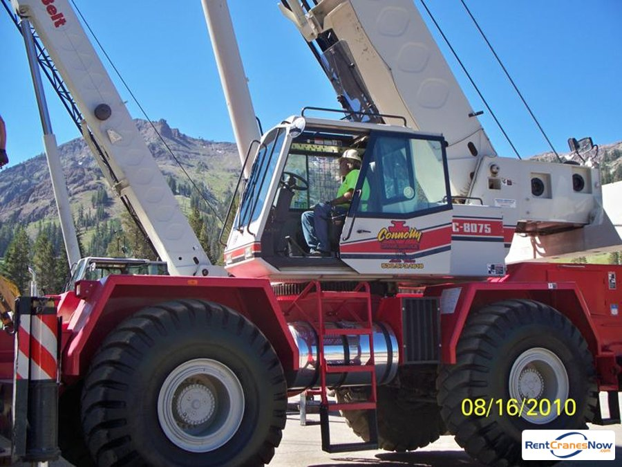 Link-Belt RTC-8075 Crane for Rent in Gardnerville Nevada on CraneNetwork.com