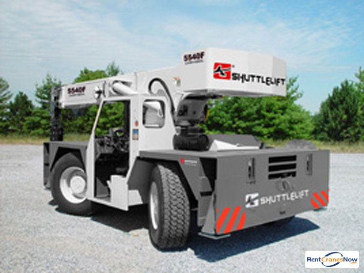 15-Ton Shuttlelift 5540F Crane for Rent in East Hartford Connecticut on CraneNetworkcom