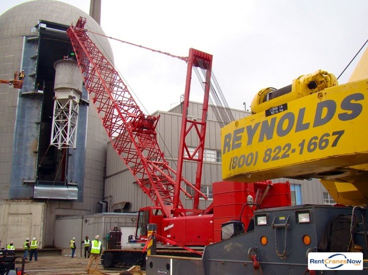 Manitowoc 999 Crane for Rent in Madison Wisconsin on CraneNetwork.com