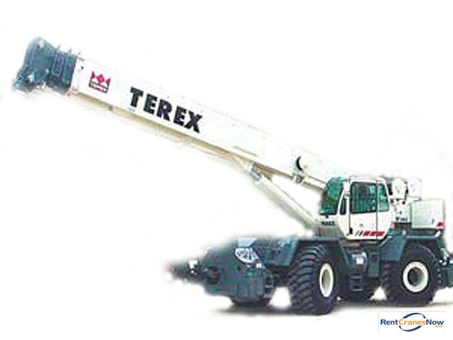 50-TON TEREX RT450 CHERRY PICKER Crane for Rent in Hodgkins Illinois on CraneNetworkcom