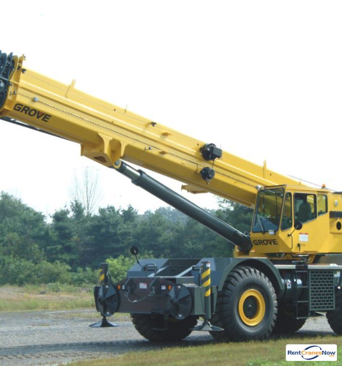 GROVE RT890 Crane for Rent in Superior Wisconsin on CraneNetwork.com