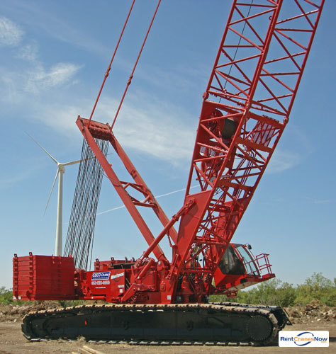 Manitowoc 16000 Crane for Rent in Shakopee Minnesota on CraneNetwork.com