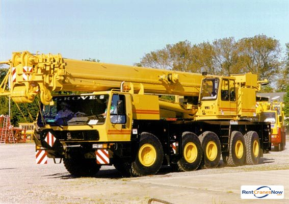 Grove GMK5210 Crane for Rent in Branford Connecticut on CraneNetwork.com