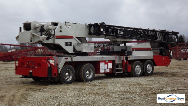 Link-Belt HTC-8660 Crane for Rent in Forest City Iowa on CraneNetwork.com
