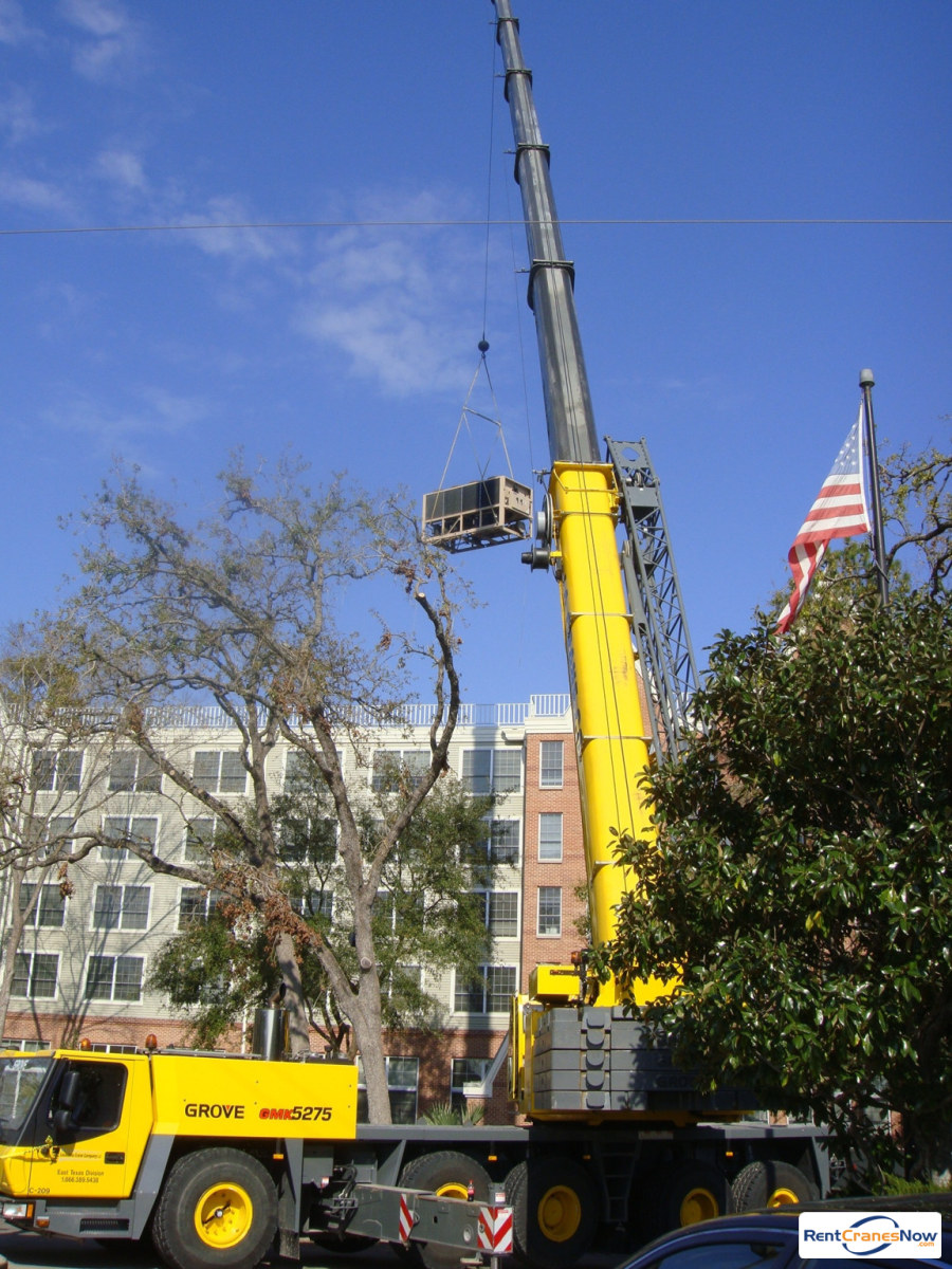 Crane for Rent in La Porte Texas on CraneNetwork.com