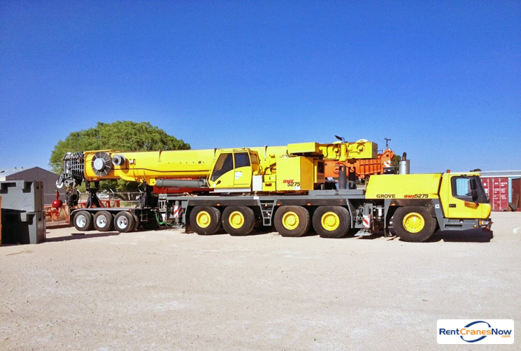 275-TON GROVE GMK5275 Crane for Rent in Kansas City Kansas on CraneNetworkcom