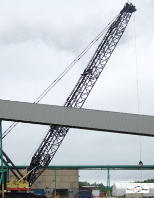 440-TON LIEBHERR LR 1400 Crane for Rent in Elkview West Virginia on CraneNetworkcom
