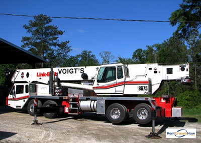 LINK-BELT HTC-8675 Crane for Rent in Valdosta Georgia on CraneNetwork.com